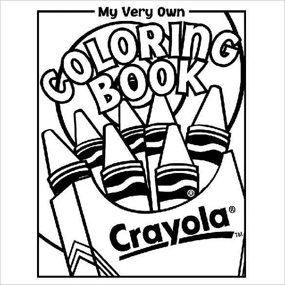crayola color pages # 9