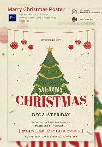 free christmas posters