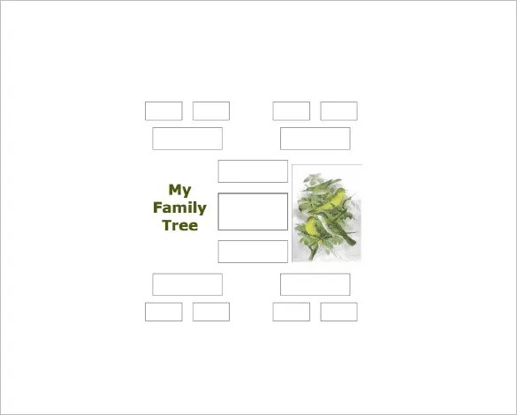 4 Generation Family Tree Template 12 Free Sample Example Format Download Free Premium
