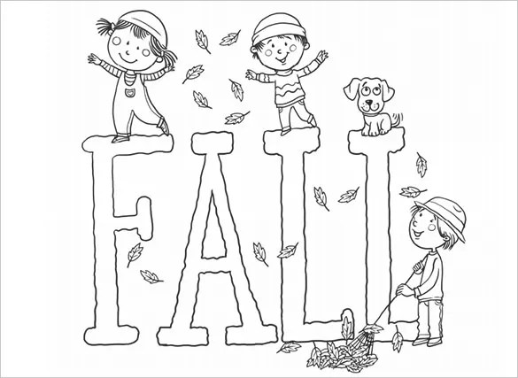 20 Fall Coloring Pages Free Word Pdf Jpeg Png Format Download Free Premium Templates