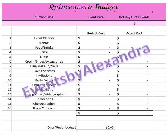 29 Budget Templates Word Excel PDF Free Premium Templates