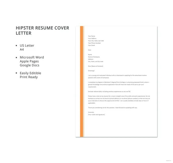 Build a cover letter in minutes. Resume Cover Letter 23 Free Word Pdf Documents Download Free Premium Templates