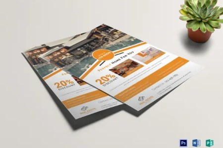 33  Free Download Real Estate Flyer Template in Microsoft Word     sample real estate