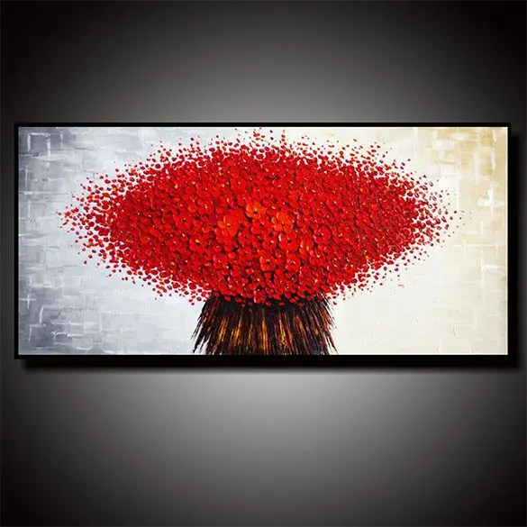 17 Abstract Flower Paintings Free Amp Premium Templates
