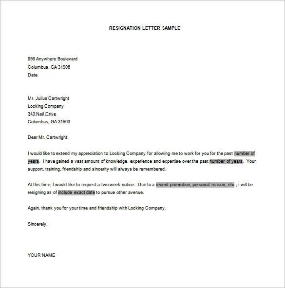 Non Profit Board Resignation Letter Resignation Letters Livecareer