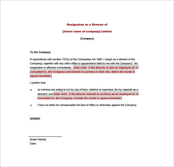 Resign Letter Format Pdf Marathi | Ownerletter co