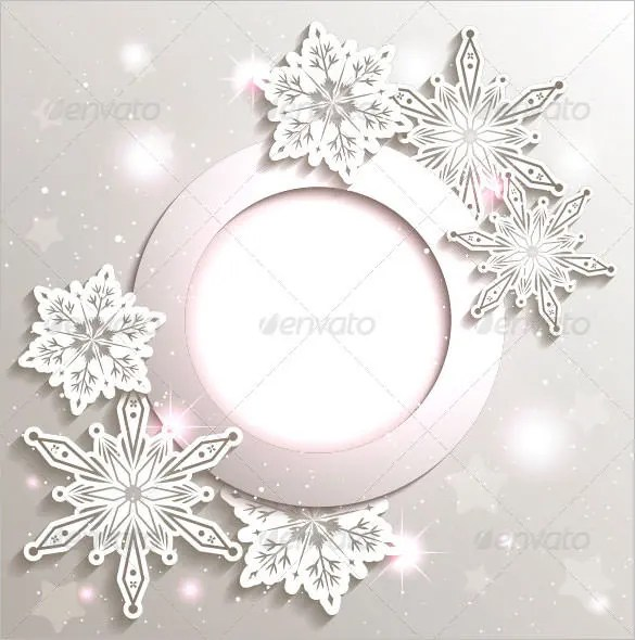 178 Christmas Snowflake Templates Free Printable Word