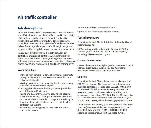 12 Controller Job Description Templates Free Sample Example Format Download Free