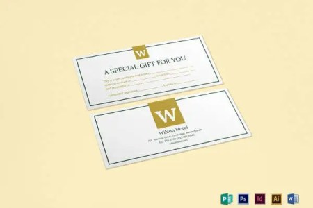 30  Blank Gift Certificate Templates   DOC  PDF   Free   Premium     Hotel Gift Certificate Template to Print