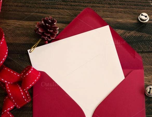 89 Christmas Envelope Templates Free PSD EPS Ai