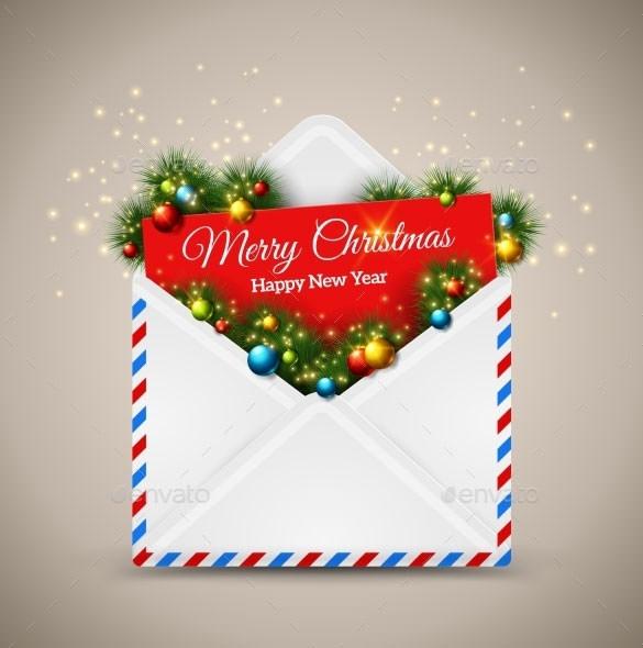 89 Christmas Envelope Templates Free PSD EPS Ai PDFFormat Download Free Amp Premium Templates