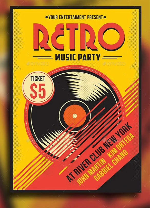 29 Music Flyer Templates Ms Word Publisher Apple Pages PSD Free Premium Templates