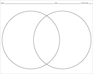 9 Blank Venn Diagram Templates  PDF, DOC | Free