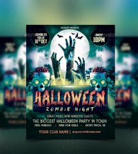 halloween party poster pdf
