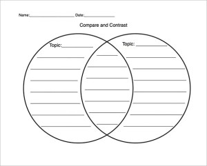 10 Free Venn Diagram Templates – Free Sample, Example