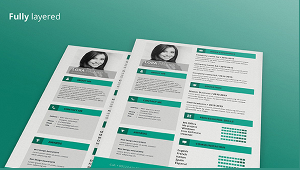 Over 30+ resume template options to help you create a resume that will get you the job. 68 Cv Templates Pdf Doc Psd Ai Free Premium Templates