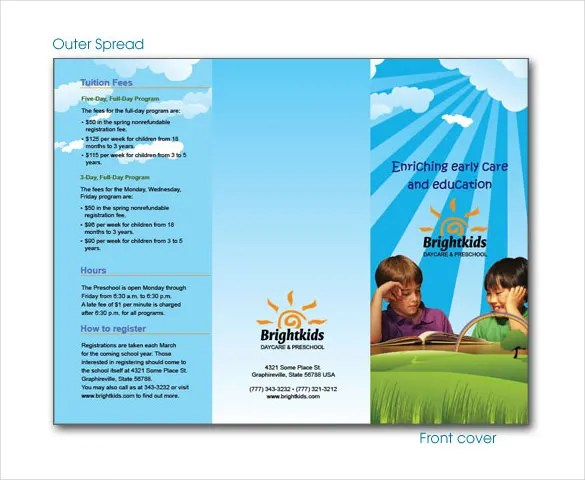 19+ Daycare Brochure Templates - Free PSD, EPS ...