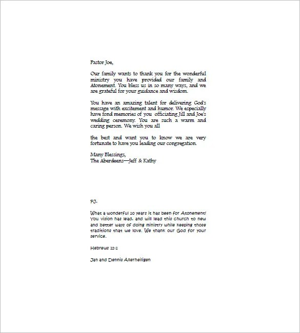 Thank You Letter For Funeral Donation | Docoments Ojazlink