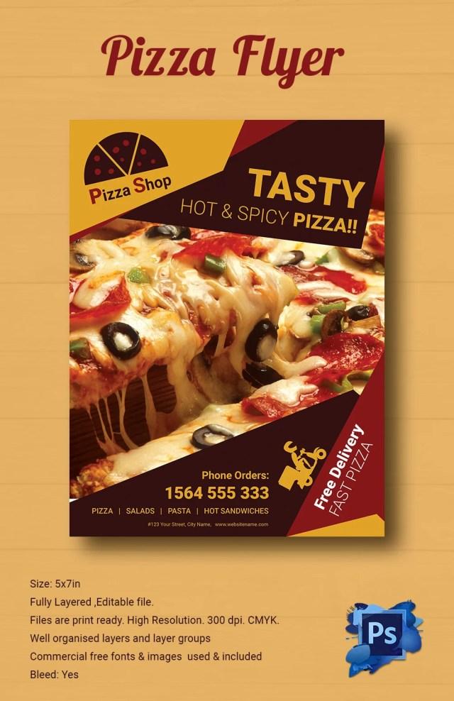 pizza flier free download