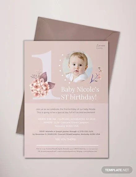 26 photo birthday invitation templates