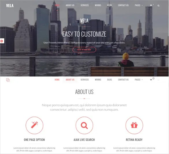 37 One Page Website Themes Amp Templates Free Amp Premium Templates