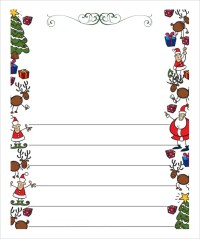 Free christmas letter paper templates merry christmas and happy whose spiritdancerdesigns Gallery