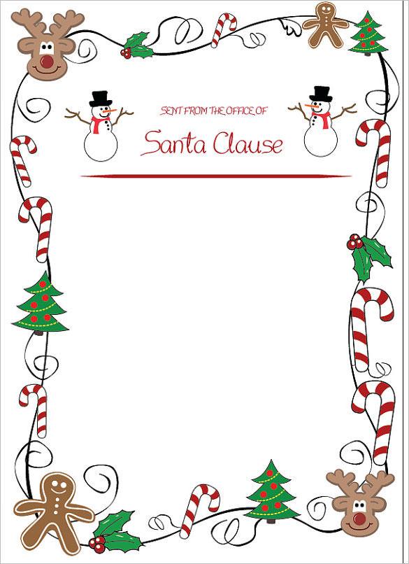 Like Snowflakes, My Christmas ...  Blank Christmas Templates
