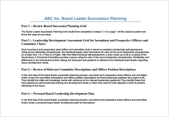 Succession planning template as the real succession plan for succession letter sample docoments ojazlink toneelgroepblik Choice Image