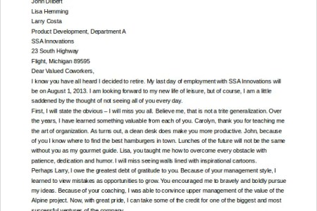 Thank you letter to colleagues free professional resume collections thank you letter after resignation colleagues image collections sample thank you note boss letter colleagues sincere resignation sample spiritdancerdesigns Image collections