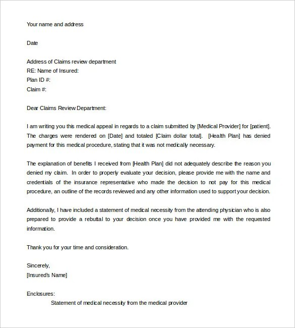 Parking Ticket Appeal Example Letters | Docoments Ojazlink