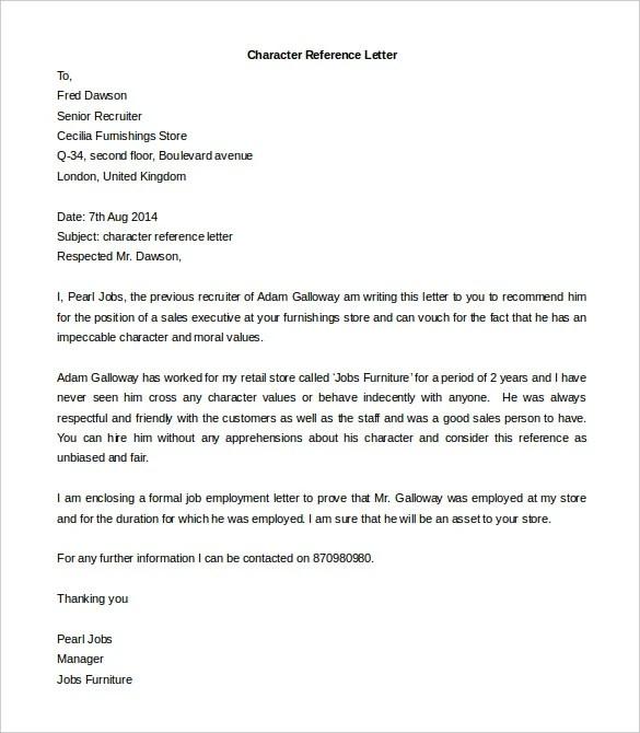 Reference Letter Employer For Landlord Cover Letter Update 18181 ...