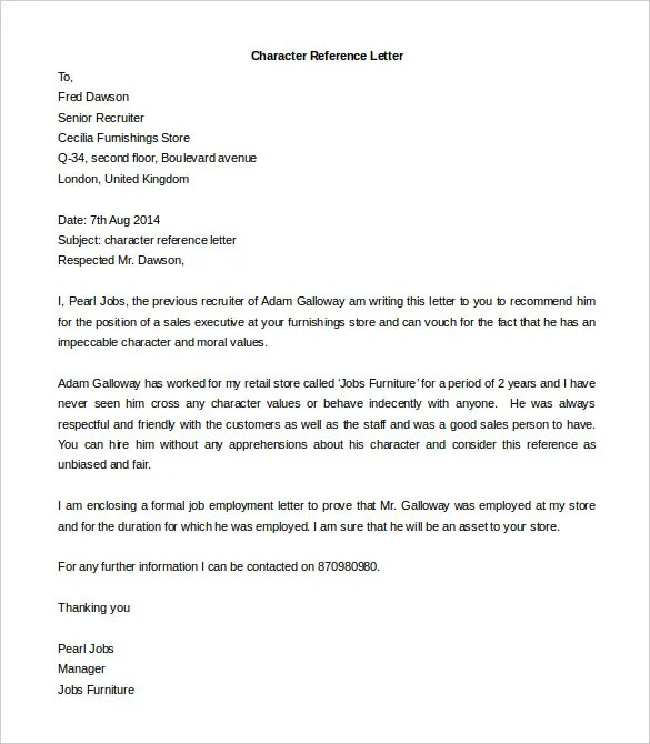 Champlain College Publishing  Free Recommendation Letter Template