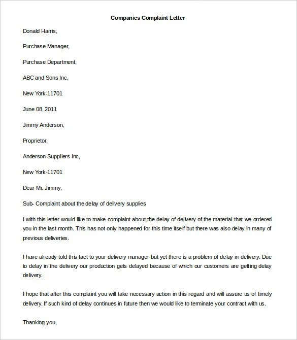 letter company cover letter templates business cover letter