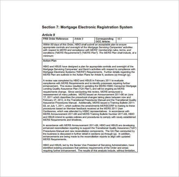 10+ Quality Assurance Plan Template - Word, PDF, PPT ...