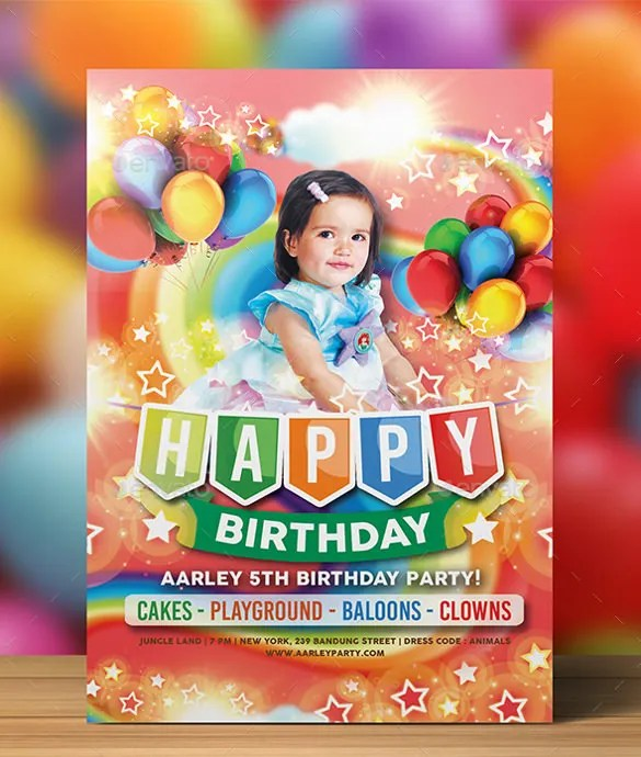 12 birthday party invitation templates
