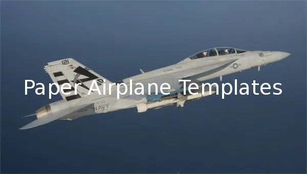 11+ Paper Airplane Templates - Free Sample, Example ...