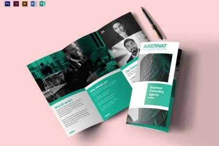 25  Word Tri Fold Brochure Templates Free Download   Free   Premium     Multipurpose Tri fold Brochure Template in Word
