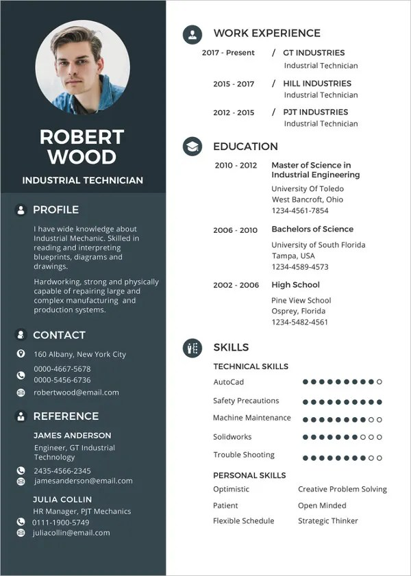 Resume Template 42 Free Word Excel PDF PSD Format Download Free Amp Premium Templates