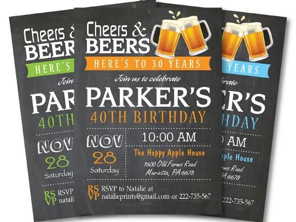 30th Birthday Party Ideas Men