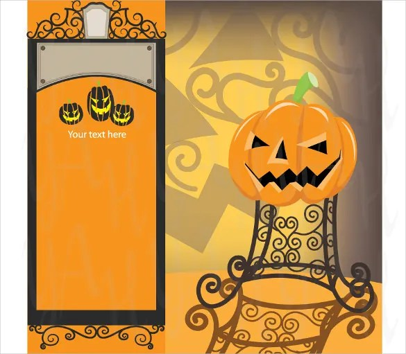 halloween birthday invitation templates