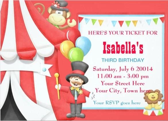 Candy Birthday Invitation Printable