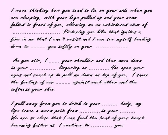 Sample Love Letters To Your Girlfriend | Docoments Ojazlink