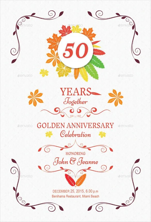 Full Size Of Templates 25th Wedding Anniversary Invitation Card Sle As Well