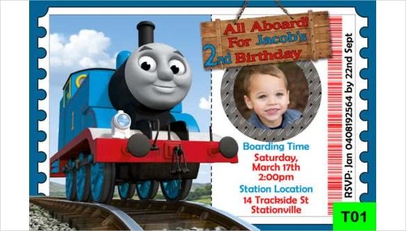 Custom Kids Birthday Invitations