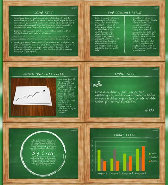 9 Chalkboard PowerPoint Templates Free Sample Example Format Download Free Amp Premium