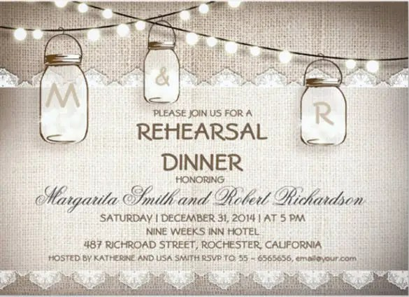 49 Dinner Invitation Templates PSD AI Word Free