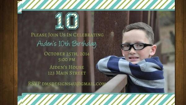 teenage birthday invitation templates