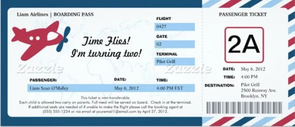 41 Ticket Invitation Templates PSD AI Word Pages