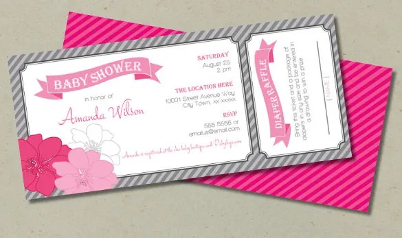 49 Ticket Invitation Templates PSD AI Word Pages Publisher Free Premium Templates