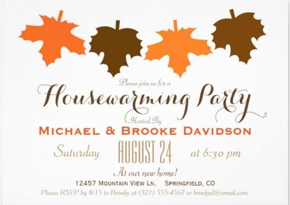 Housewarming Invitation Cards Designs PaperInvite